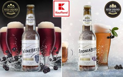 Aroniabeer and Winebeer in Kaufland stores – Croatia!